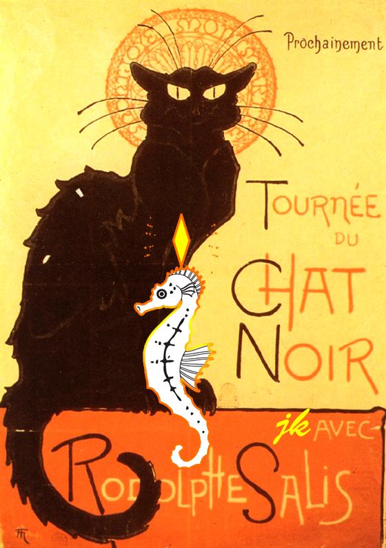 Au Chat Noir : Montmartre ou «Montjoye» (1)